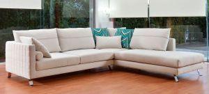 Γωνιακός καναπές με ανάκλιντρο
